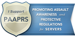 paaprs logo orange county process server safety campaign