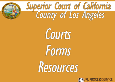 Los Angeles County Courts & Forms