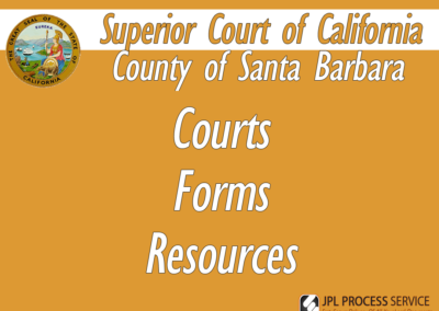 Santa Barbara County Courts & Forms