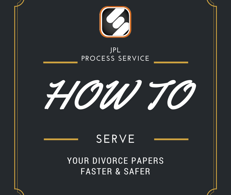 How To Serve Divorce Papers