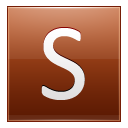 Letter-S-orange-icon