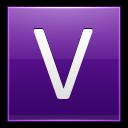 Letter-V-violet-icon